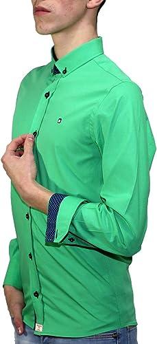 Camisa Verde Lisa: Amazon.es: Zapatos y complementos