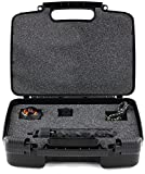 Sturdiest Hard Storage Carrying Case For 360fly 360° 4K Video Camera TM- Stores Camera, Charger And Accessories, Safely - Black