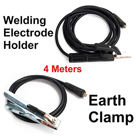 3 Meter Welding Accessories Electrode Holder Welder MMA//ARC//Stick Equipment 300A