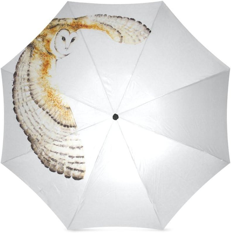 Beautytool Customized Flying Owl Folding Travel Umbrella