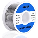AUSTOR Tin Lead Rosin Core Solder Wire 100g, 0.8mm