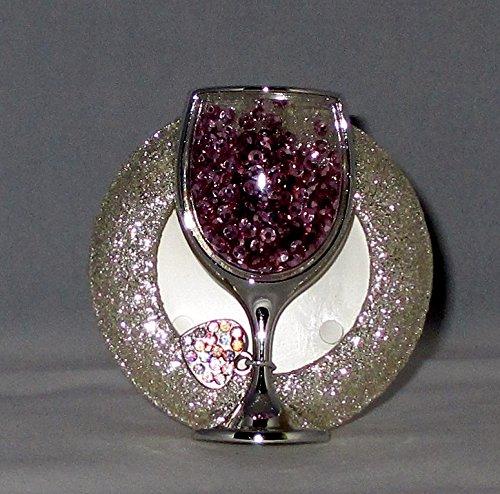 Visor Cheer (Bath and Body Works Scentportable Car Visor Clip Shaky Wine Glass)