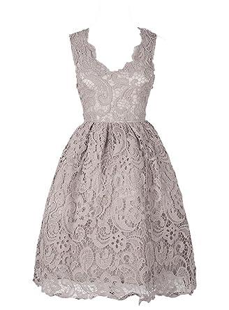 Generic Damen A-Linie Kleid schwarz Schwarz Rose X-Large Gr. Small,