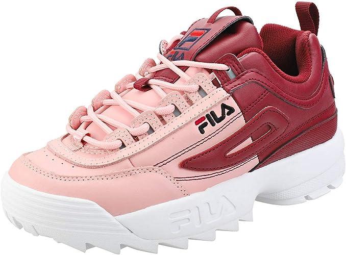 Fila Baskets femme DISRUPTOR 2 PREMIUM Red | BUZZAO