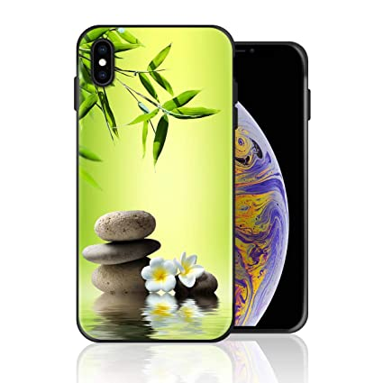 Amazon Com Silicone Case For Iphone X Japanese Zen Garden