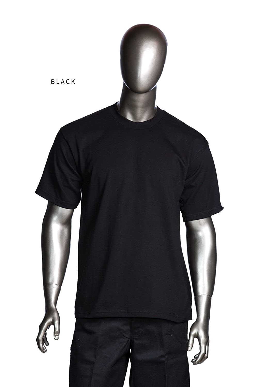 Pro Club Heavyweight T-shirts Black 5xl Tall