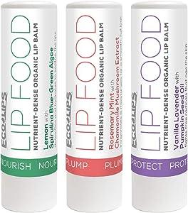 Eco Lips Lip Food - Nutrient Dense & Organic (Variety)