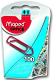 Maped Paper Clips Assorted Colours (Pack of 100)