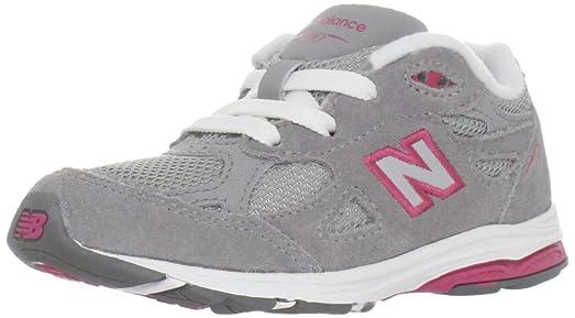 58b5ba1b82d97 Amazon.com: New Balance KJ990 Lace-Up Running Shoe (Infant/Little ...