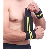 YMKT 1 ST Sweat Bands Polsbandjes Bandages voor Mannen Strak Wrap Verstelbare Ademend Elastische Polsband…