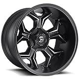 "Fuel D605 Avenger 20x10 5x5.5""/5x150 -18mm Black/Machined/Tint Wheel Rim"