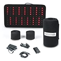 Red Light Near Infrared Therapy Led Benefits Back Pain Reliever Home Use Wearable...