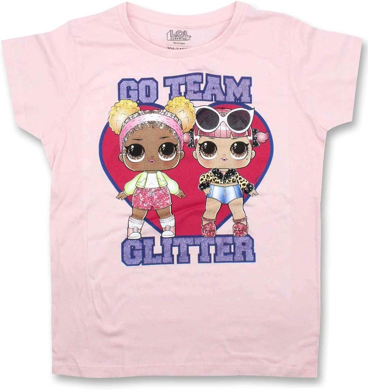 LOL Surprise - Camiseta de algodón para niña: Amazon.es: Ropa y accesorios