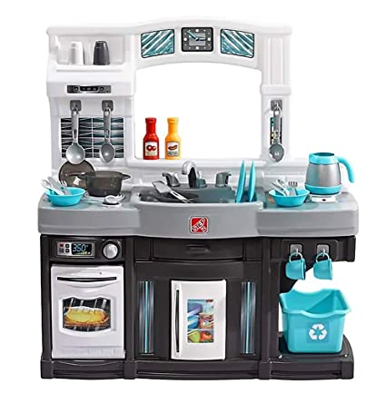 Amazon.com: Step2 Kitchen Play Set - Vintage Toy Playset for ...