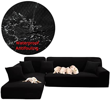 Amazon.com: Taiyucover Waterproof L-Shaped Sofa Slipcovers ...