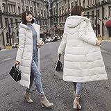 GUXIU Mode Winter Frauen Daunenjacke Frauen daunenmantel gro/ßen Pelzkragen weibliche warme Lange Frauen Kleidung Manteau Femme Hiver