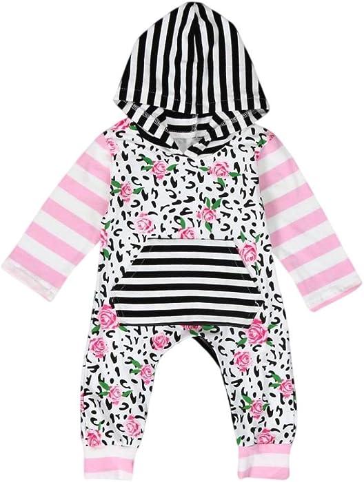 1b22f0c58 Amazon.com  Toraway Infant Baby Newborn Girls Boys Cotton Romper ...
