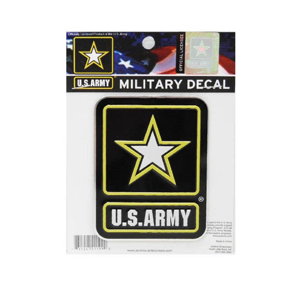 Jenkins Enterprises United States Army Colored Metal Auto Emblem