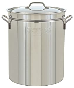 Bayou Classic1036 Stainless Steel Stockpot, 36 Quart