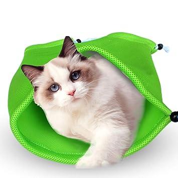 QIQI Pet Cat Grooming Lavado Bolsa De Baño Cat Multifuncional Bolsa Limpia para Ducha, Limpieza