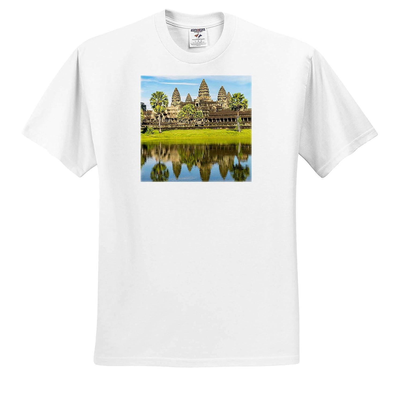 ts/_312908 Angkor Cambodia Adult T-Shirt XL 3dRose Danita Delimont Cambodia Angkor Wat