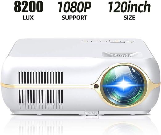 Proyector LED Proyector de Video casero HD 720P HD Soporte 1080P ...