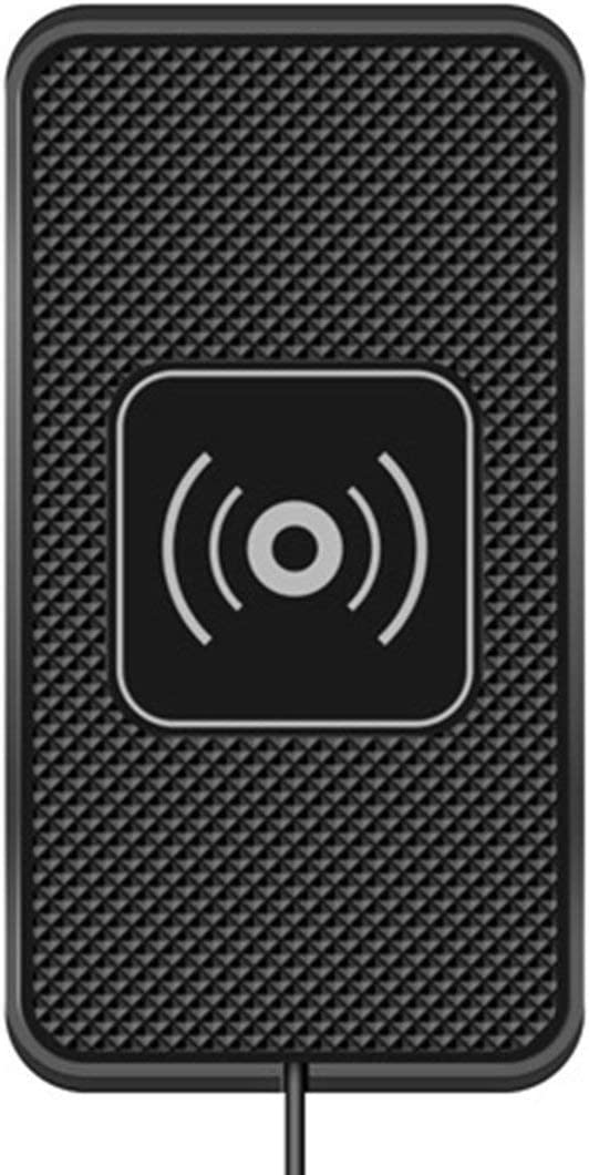 Zinniaya C3 Cargador inalámbrico para el Coche Estera de Silicona Antideslizante Base de Carga Pad Cargador de teléfono móvil Universal para Dispositivos habilitados para QI