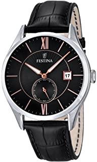 Mens Watch - FESTINA - Leather Band - F16872/4