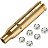 CVLIFE Bore Sight Cal 223 5.56mm Rem Gauge Red Dot Boresighter with Two Sets Batteries