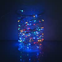 Outdoor Solar Lights,Solar Christmas Lights 10M 100Balls String Lights for Holiday Decorations (Multi-Colored)