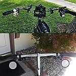 WENTS-Specchietti-Bici-4-Pezzi-Bicicletta-Ciclismo-Retrovisori-Specchietto-Regolabile-Girevole-Manubrio-Montato-Specchio-Convesso-Retrovisore-da-Bicicletta-per-Motorino-Mountain-Bike-Scooter