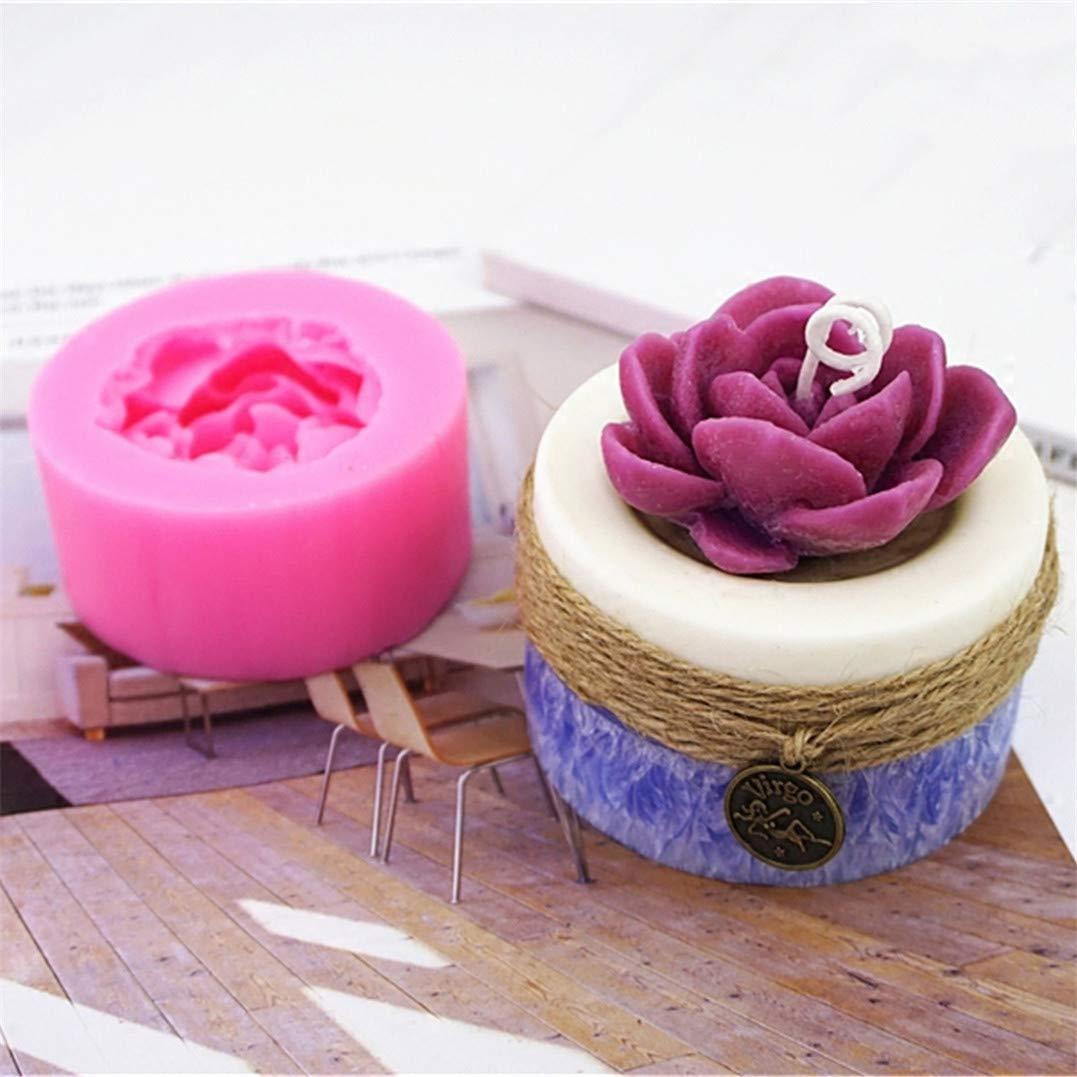 Underleaf 3D Blume S/ü/ßigkeiten Kuchen Dekoration Form Dreidimensionale Seife Blume Form Schimmel Silikon Seifenherstellung Schimmel