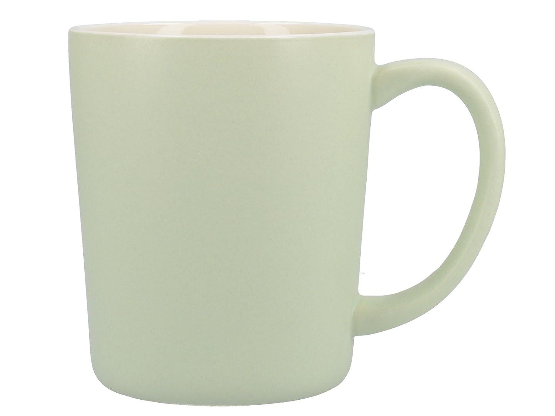 400 ml Rojo Tazas de cer/ámica para caf/é latte La Cafeti/ère Barcelona