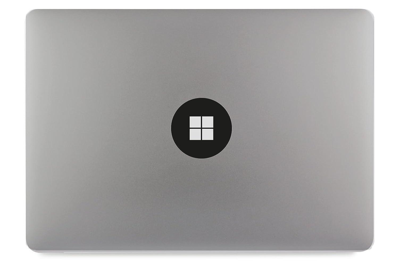 Windows 10 Logo Kreis Apple Macbook Air Pro Aufkleber