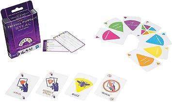 Hasbro Trivial Pursuit - Juego de cartas (versión española): Amazon.es: Juguetes y juegos