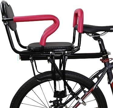 YBZX Bicicleta Eléctrica Trasero Asiento Infantil Bicicleta De ...