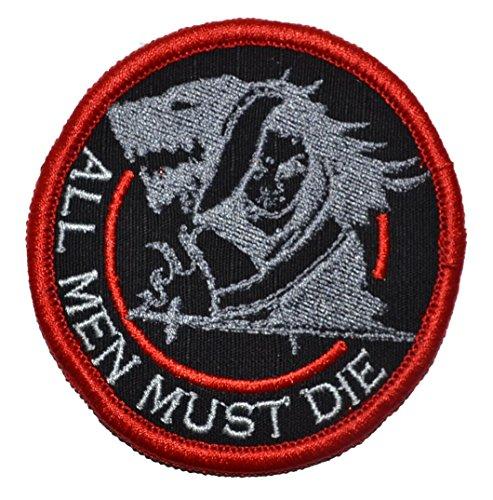 Arya Stark - All Men Must Die - Game of Thrones Parody 3in Diameter Morale Patch