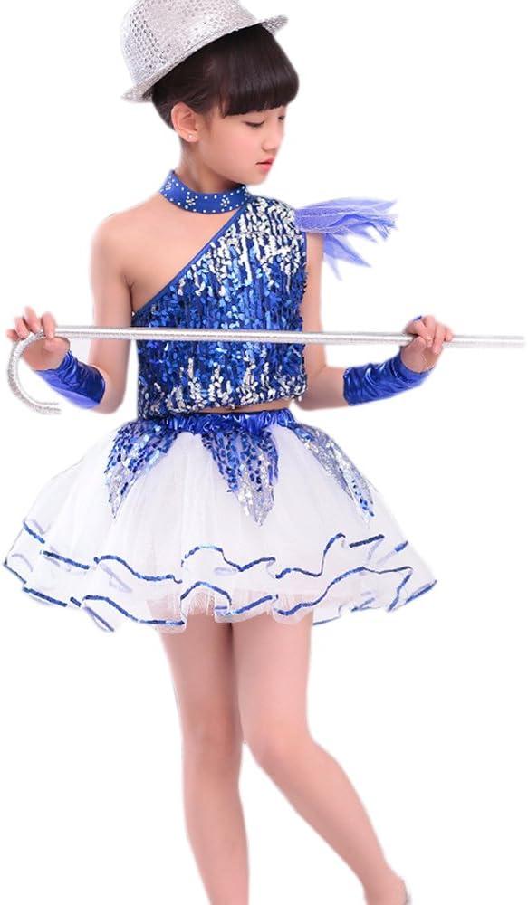 Amazon.com: xfentech Pretty niños y niñas Jazz danza baile ...