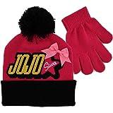 Amazon.com  JoJo Siwa Bow Girls Kids Winter Hat Beanie Mittens ... fe83a9429a2