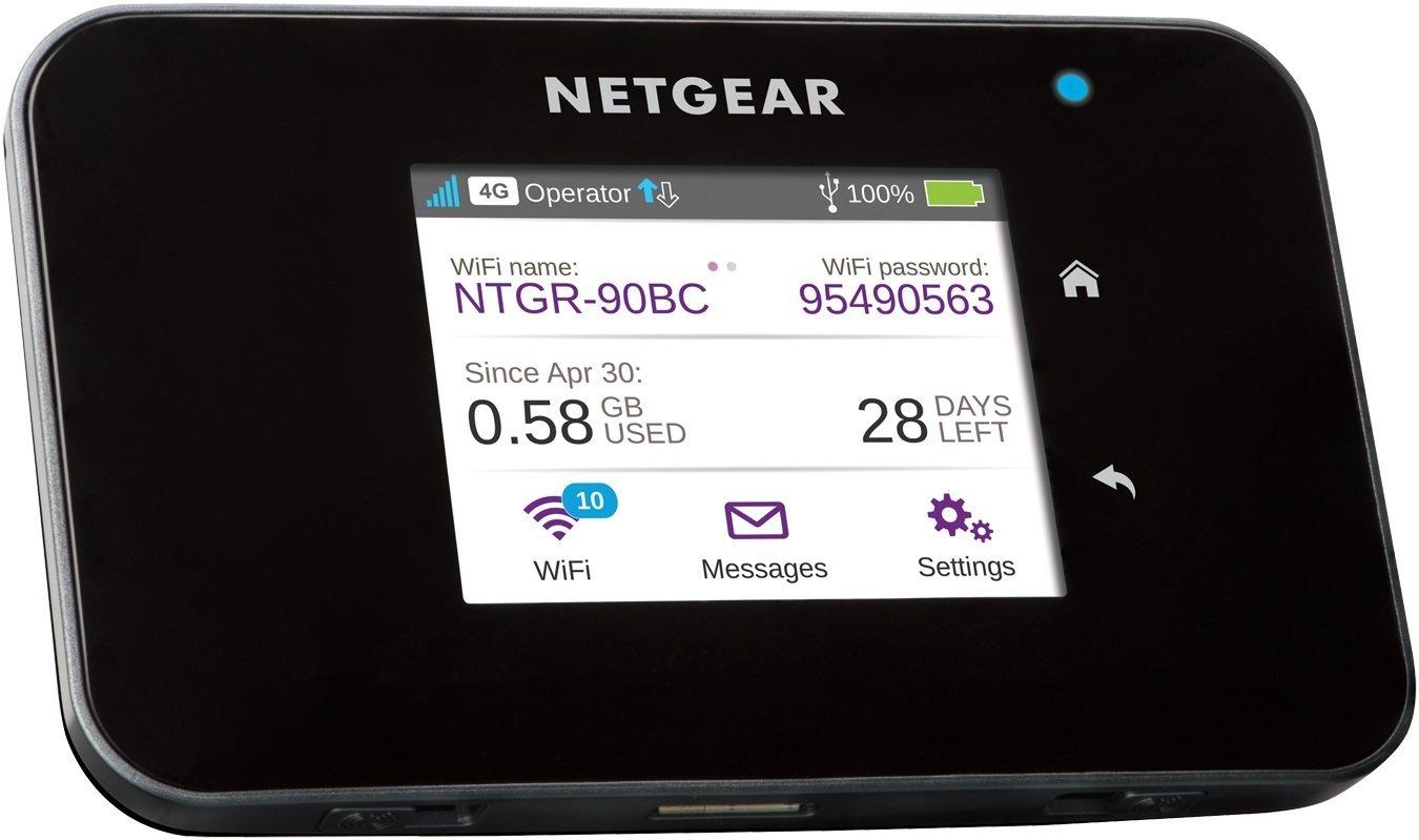 Netgear AC810-100EUS - Router móvil con Pantalla táctil Color (AirCard 3G/4G