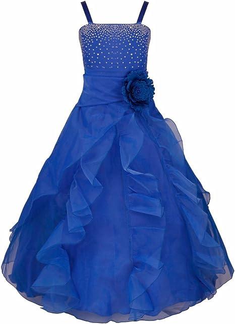 Iiniim Iiniim Madchen Kleid Prinzessin Kleid Festlich Brautjungfern Kleider Hochzeit Party Festzug Kleid Kleider Amazon De Bekleidung