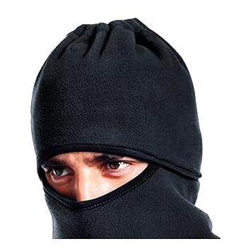 boutique1583 Mascara protectora Careta Bufanda Sombrero De Lana Mascarrilla Con Vello Gorro