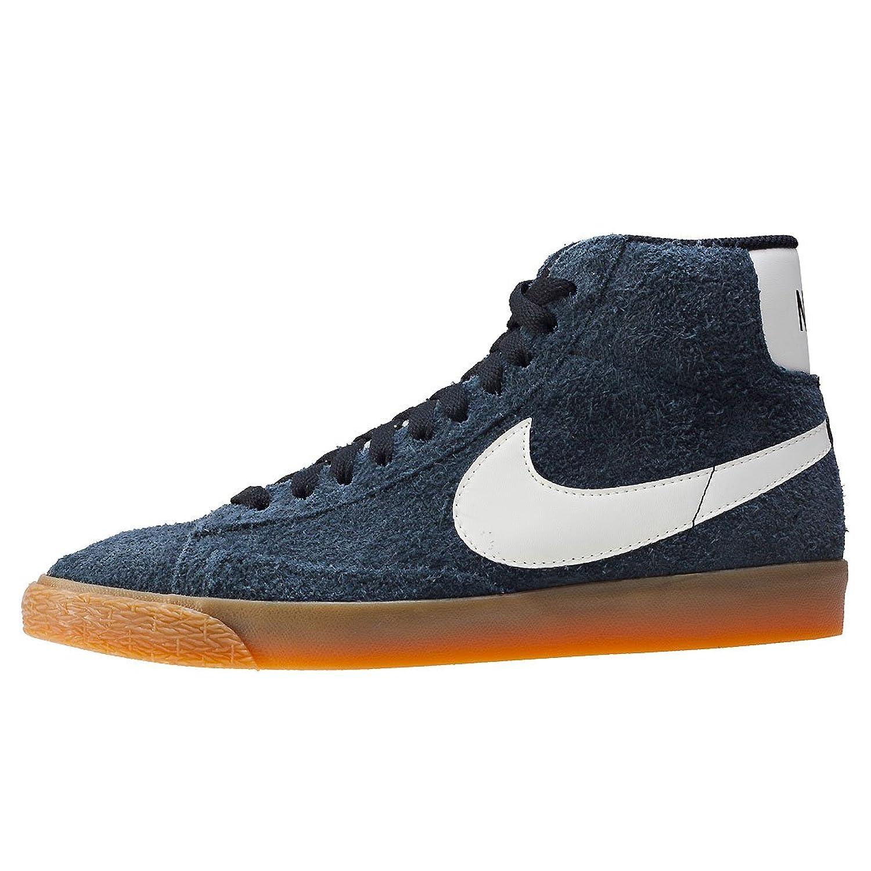 NIKE WMNS Blazer Mid Suede Vintage Les femmes chaussures de sport en cuir  gris 518171 017, Taille:40: Amazon.fr: Chaussures et Sacs