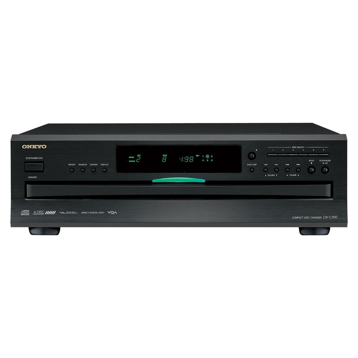 Onkyo DXC390 6 Disc CD Changer by Onkyo