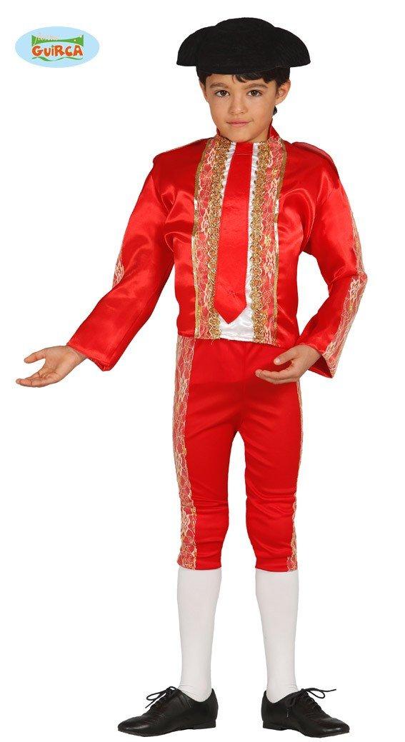 Disfraz de Torero rojo en varias tallas: Amazon.es: Juguetes y juegos