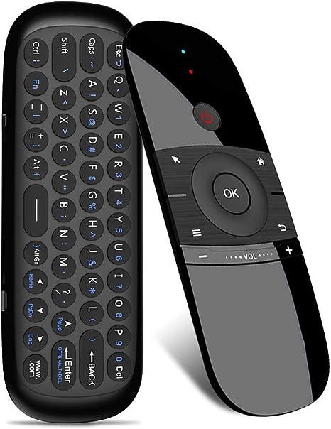 2.4G Air Mouse Teclado Inalámbrico 6-Axis Motion Sense Control Remoto de Aprendizaje IR con Receptor USB para Smart TV Android TV Box: Amazon.es: Deportes y aire libre