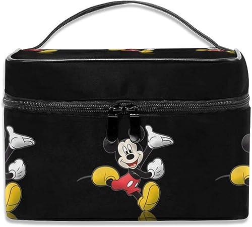LCXjj Happy Mickey Mouse Estuche de Maquillaje multifunción, Profesional, Organizador de Maquillaje, Joyas de tocador para Mujer: Amazon.es: Hogar