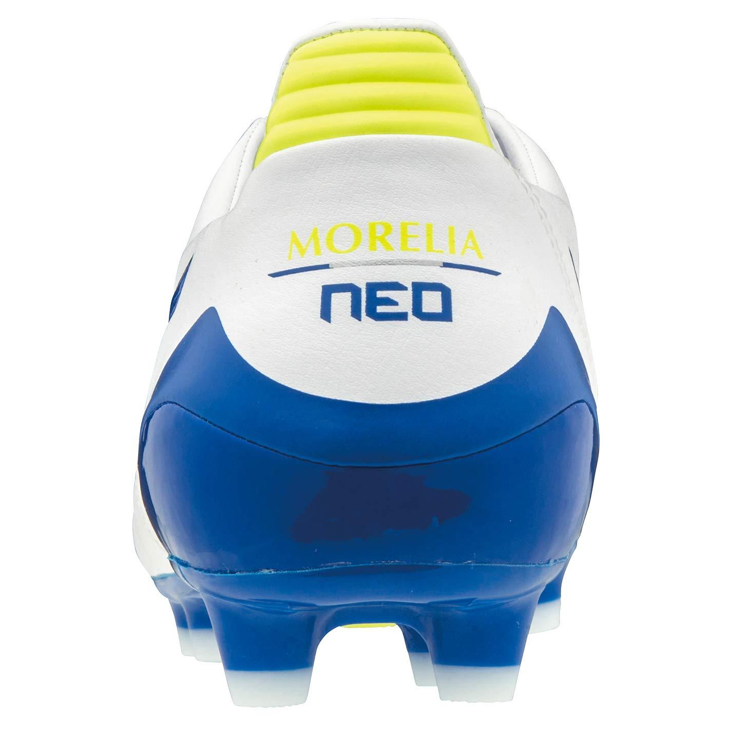 Scarpe da Calcio White-Wave Cup Blue-Safety Yellow Mizuno Morelia Neo KL II