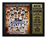 Encore Select 520-05 MLB Boston Red Sox 2013 World Series Champions Stats Plaque, 12-Inch by 15-Inch