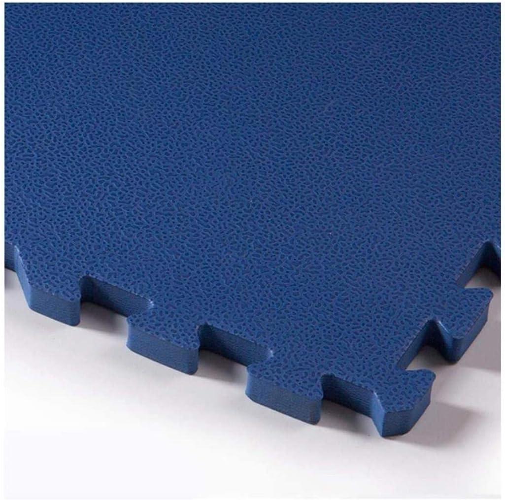 ベビー泡パズル、おなかの時間のための余分な太い無毒クロールマット、子供のプレイルームに最適、60x60x1.3cm-4本 - マット連動階子供たちはカーペットタイルをプレイパズル (Color : Blue, Size : 60x60x1.3cm-4pcs)